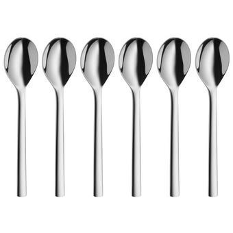 Kaffeelöffelset - Edelstahlfarben, Design, Metall (13,5cm) - WMF