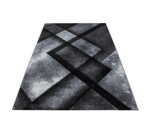 WEBTEPPICH - Schwarz, KONVENTIONELL, Textil (200/290cm) - Novel