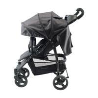 SULKY - svart/grå, Klassisk, metall/textil (90/53/103cm) - Jimmylee