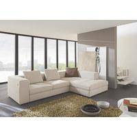 WOHNLANDSCHAFT - Creme/Schwarz, MODERN, Kunststoff/Textil (304/194cm) - DIETER KNOLL