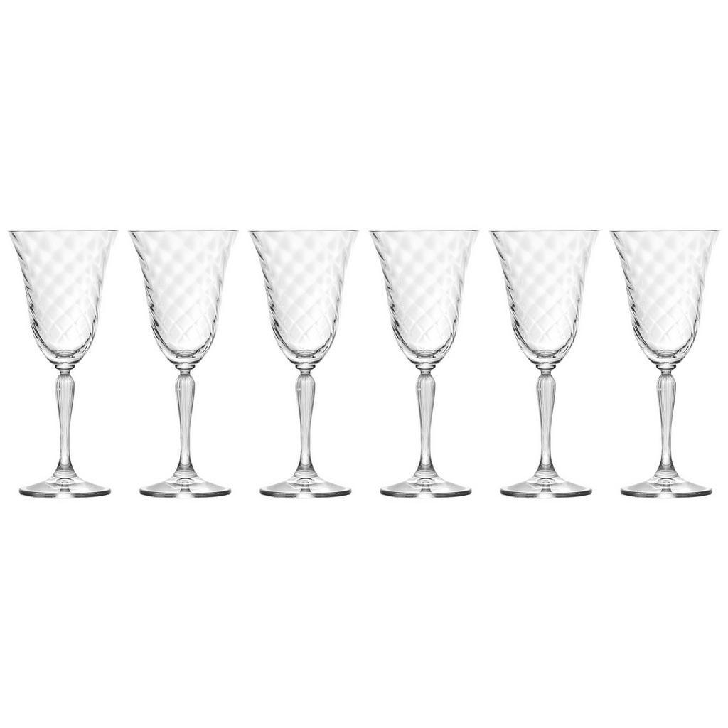 Kelchförmiges Rotweinglas