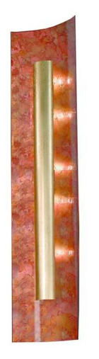 WANDLEUCHTE - Multicolor, LIFESTYLE, Glas/Metall (23/100/8cm)