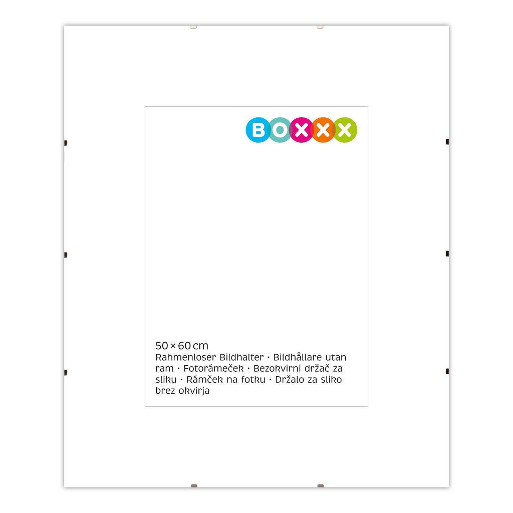 Image of Boxxx Cliprahmen in klar , 634553 , Glas , 50x1 cm , klar , 004342022908