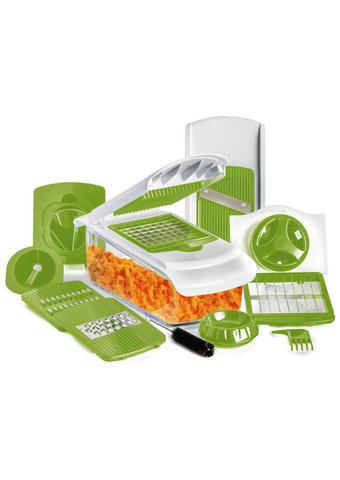 KUCHYŇSKÝ KRÁJEČ - bílá/zelená, Basics, kov/umělá hmota - Homeware Profession.