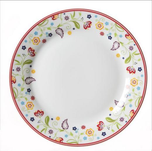 SPEISETELLER Keramik Porzellan - Lila/Rot, Basics, Keramik (27cm) - Ritzenhoff Breker