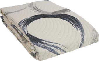 PŘEHOZ NA POSTEL - šedá, Design, textil (220/240cm) - NOVEL