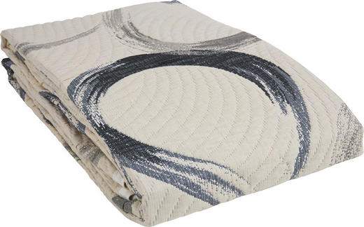 TAGESDECKE 220/240 cm - Grau, Design, Textil (220/240cm) - Novel
