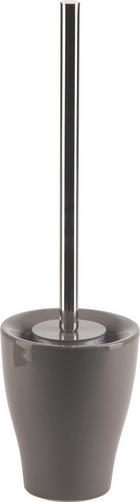 WC SADA - šedá/barvy chromu, Design, kov/umělá hmota (11,5/40/11,5cm)