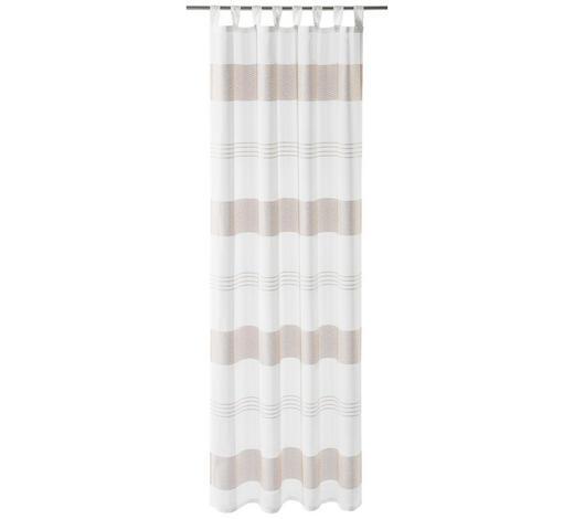 SCHLAUFENSCHAL  halbtransparent   140/255 cm  - Altrosa, Basics, Textil (140/255cm) - Esposa