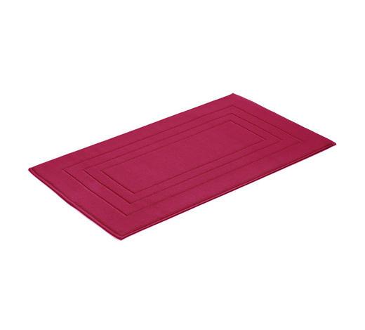 PŘEDLOŽKA KOUPELNOVÁ, 67/120 cm, červená - červená, Basics, textil (67/120cm) - Vossen