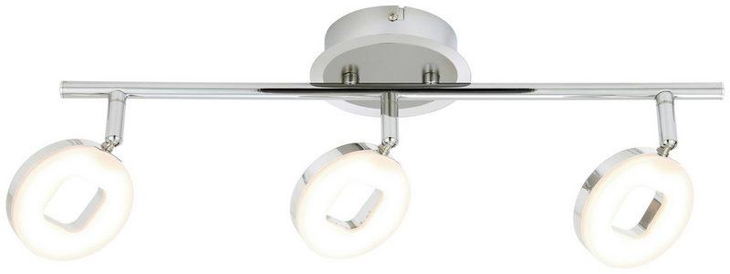 LED REFLEKTOR - Boje hroma/Boja nikla, Konvencionalno, Plastika/Metal (48cm) - Novel