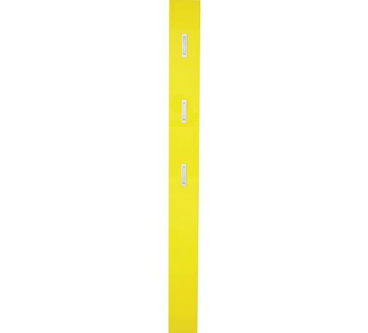 GARDEROBENPANEEL 15/170/4 cm - Gelb, Design, Holzwerkstoff (15/170/4cm) - Xora