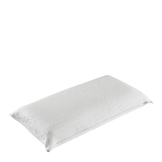 NACKENKISSEN Struktur Viskoelastischer Kern - Weiß, Textil (40/80cm) - Centa-Star
