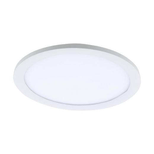 LED-DECKENLEUCHTE - Weiß, KONVENTIONELL, Kunststoff/Metall (30/5cm)