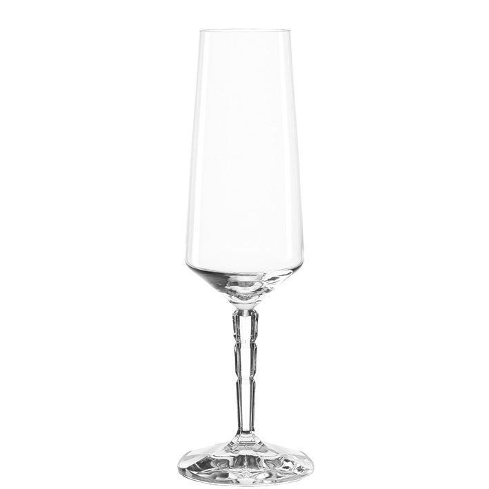 SEKTGLAS - Transparent, Glas (6,70/21,80/6,70cm) - LEONARDO