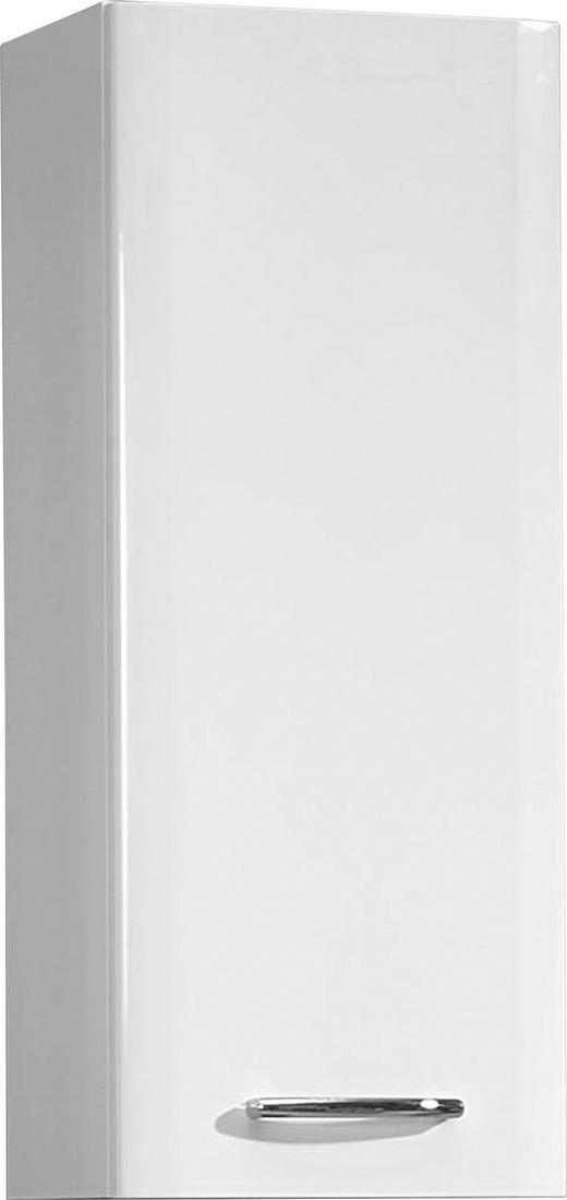 HÄNGESCHRANK Weiß - Chromfarben/Weiß, KONVENTIONELL, Holzwerkstoff (30/73/20cm) - Carryhome