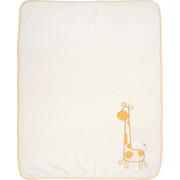 SCHMUSEDECKE 75/100 cm  - Orange/Weiß, Basics, Textil (75/100cm) - My Baby Lou