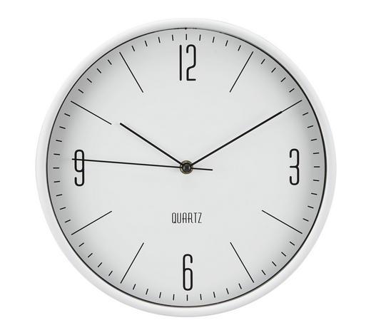 WANDUHR 30 cm - Weiß, Basics, Kunststoff (30cm) - Boxxx