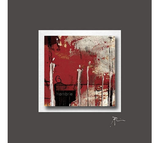 BILD Abstraktes  - Multicolor, Design, Metall (50/50cm) - Wiedemann
