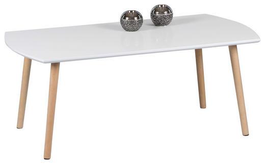 COUCHTISCH in Holz, Holzwerkstoff - Buchefarben/Weiß, LIFESTYLE, Holz/Holzwerkstoff (110/60/44cm) - Carryhome