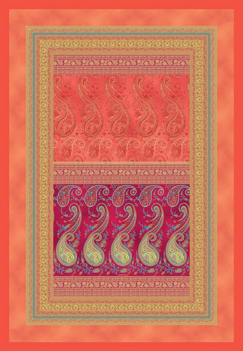 PLAID 135/190 cm Rot - Rot, LIFESTYLE, Textil (135/190cm) - BASSETTI