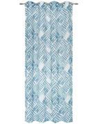 ZAVJESA S RINGOVIMA - boje petroleja, Design, tekstil (135/245cm) - Esposa