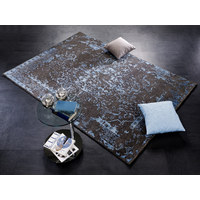 ORIENTTEPPICH  70/140 cm  Blau, Grau   - Blau/Grau, Design, Textil (70/140cm) - Musterring