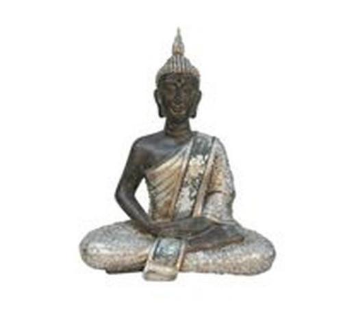 BUDDHA - vícebarevná, Lifestyle, umělá hmota (27,5/35/15,5cm) - Ambia Home