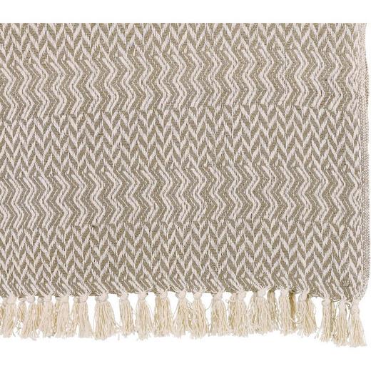DECKE 125/150 cm Hellgrau - Hellgrau, Basics, Textil (125/150cm)
