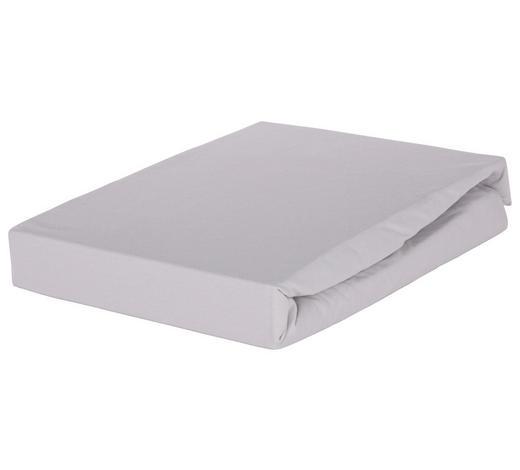 BOXSPRING-SPANNLEINTUCH - Grau, Basics, Textil (140/200cm) - Novel