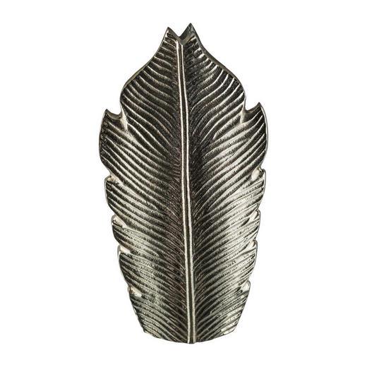 VASE 32 cm - Silberfarben, Trend, Metall (32cm)