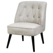 FOTELJ,  siva tekstil - črna/siva, Design, tekstil/les (77/73/84cm) - Venda