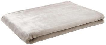 Wohndecke Mila 150x200 cm - Taupe, ROMANTIK / LANDHAUS, Textil (150/200cm) - James Wood