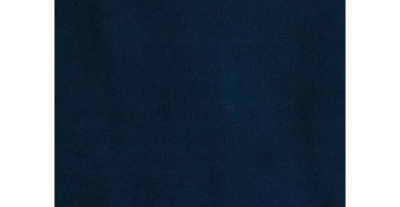 BIG SESSEL in Textil Blau  - Blau/Dunkelbraun, LIFESTYLE, Holz/Textil (117/97/134cm) - Landscape