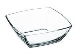 SKÅL - klar/transparent, Design, glas (16/16/5,6cm) - Homeware