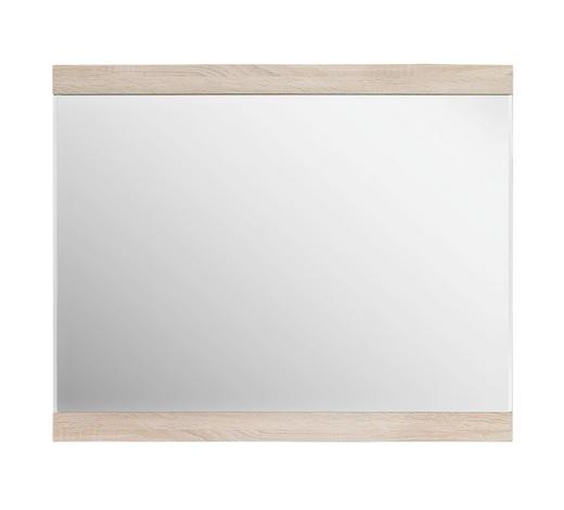 OGLEDALO - hrast Sonoma, Design, staklo/drvni materijal (95/77/2cm) - Boxxx