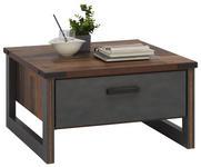 COUCHTISCH in Holzwerkstoff 80/80/44 cm - Anthrazit/Grau, KONVENTIONELL, Holzwerkstoff/Kunststoff (80/80/44cm) - Hom`in