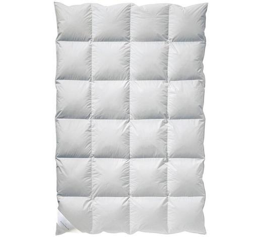 KASSETTENDECKE  155/220 cm   - Weiß, Textil (155/220cm) - Billerbeck