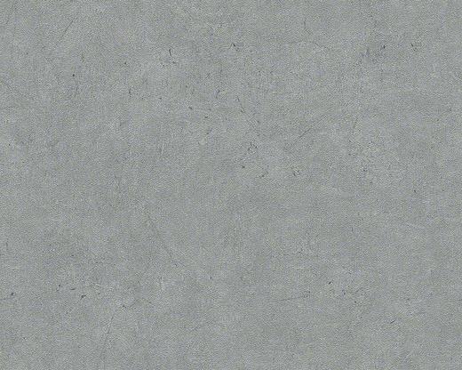 VLIESTAPETE 10,05 m - Dunkelgrau, Design, Textil (53/1005cm)