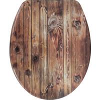 WC SEDÁTKO - světle hnědá, Basics, umělá hmota (37,5/5,8/45cm) - Celina