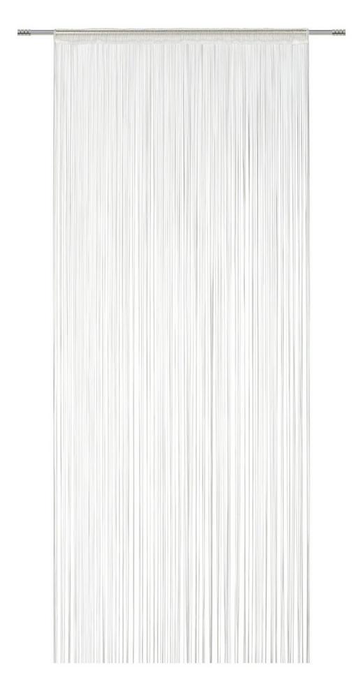 FADENSTORE  transparent  100/300 cm - Weiß, KONVENTIONELL, Textil (100/300cm) - Esposa