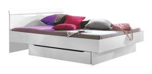 BETT 140 cm   x 200 cm   in Holzwerkstoff Weiß - Weiß, Design, Holzwerkstoff (140/200cm) - Xora