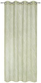 ZAVJESA S RINGOVIMA - zelena, Design, tekstil (135/245cm) - Esposa