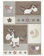 OTROŠKA PREPROGA UNICORN KIDS - bež, Design, tekstil (120/170cm) - Ben'n'jen