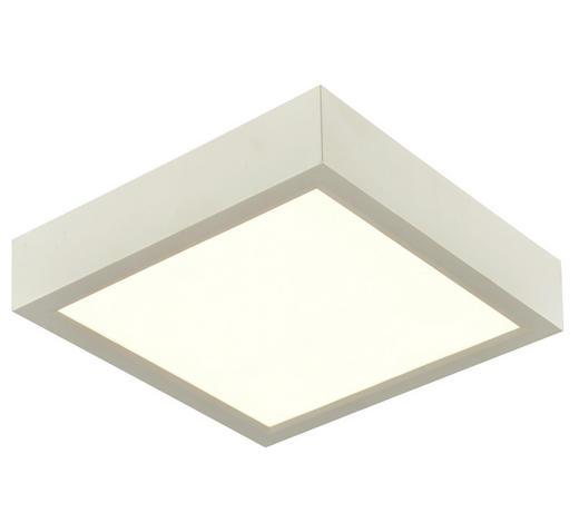 LED-DECKENLEUCHTE   - Weiß, KONVENTIONELL, Kunststoff (22,5/22,5/4,5cm) - Boxxx