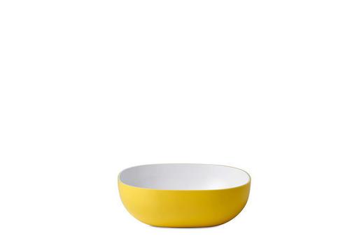 SCHALE Kunststoff - Gelb, Design, Kunststoff (15,5/15,5/5cm) - Mepal Rosti