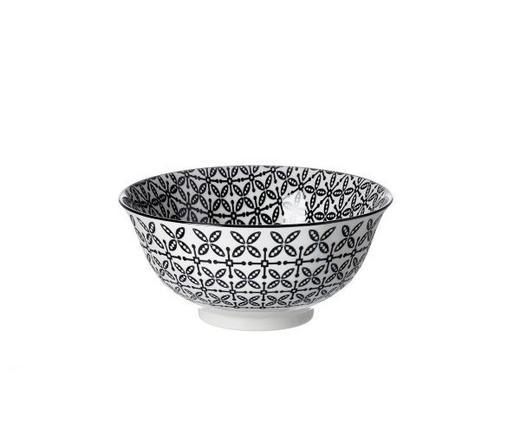 MÜSLISCHALE - Schwarz/Weiß, Basics, Keramik (15,5cm) - Ritzenhoff Breker