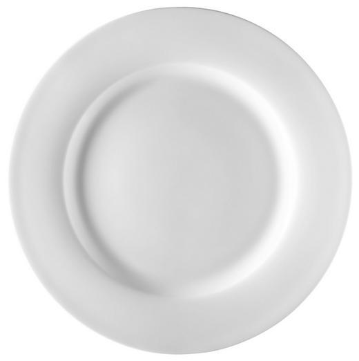 SPEISETELLER Keramik Bone China - Weiß, Basics, Keramik (27cm) - Novel