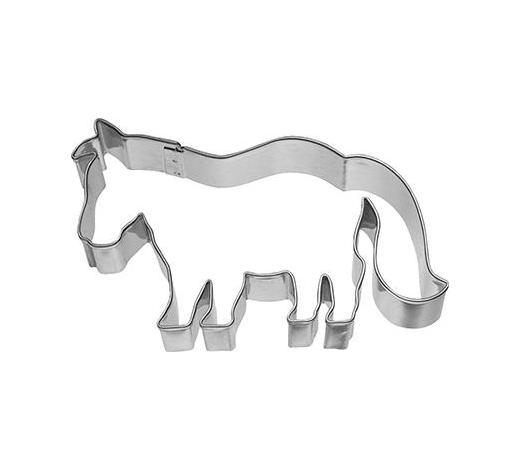 KEKSAUSSTECHFORM - Edelstahlfarben, Basics, Metall (9,5/6/2,5cm) - Birkmann