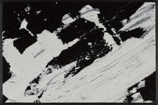 FUßMATTE 50/75 cm Graphik Schwarz, Weiß - Schwarz/Weiß, Basics, Kunststoff/Textil (50/75cm) - Esposa